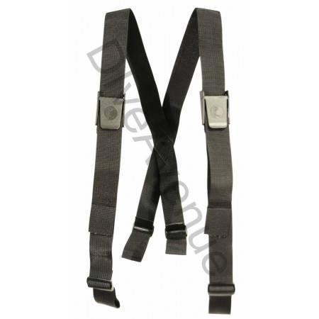 Bretelles ceinture de plomb...