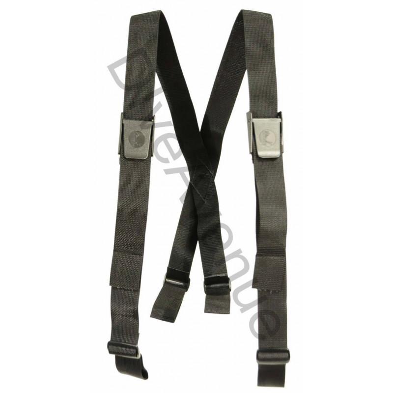 Bretelles ceinture de plomb plongée