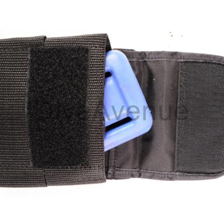Poche à plomb pour ceinture de plomb 12.7cm x 12.7cm