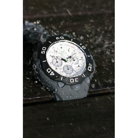 Bracelet silicone GRIS pour montre A.D.N.A
