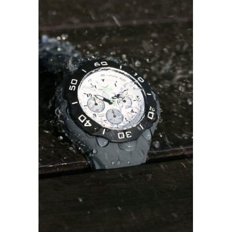 GREY silicon band A.D.N.A watch