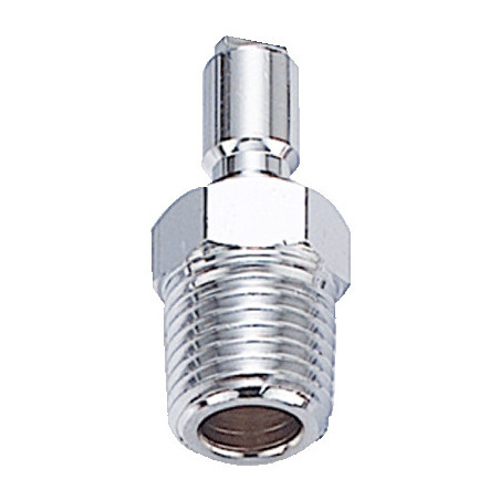 "BC nipple 1/4"" NPT conical"