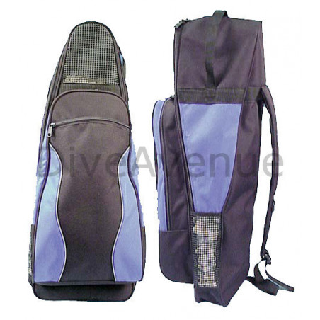 Storage bag for mask and snorkel fins