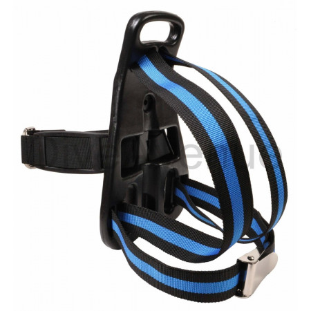 Tank backpack for scuba air tank with harness