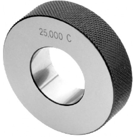 "Smooth ring gauge M25x200 6g ""GO"""