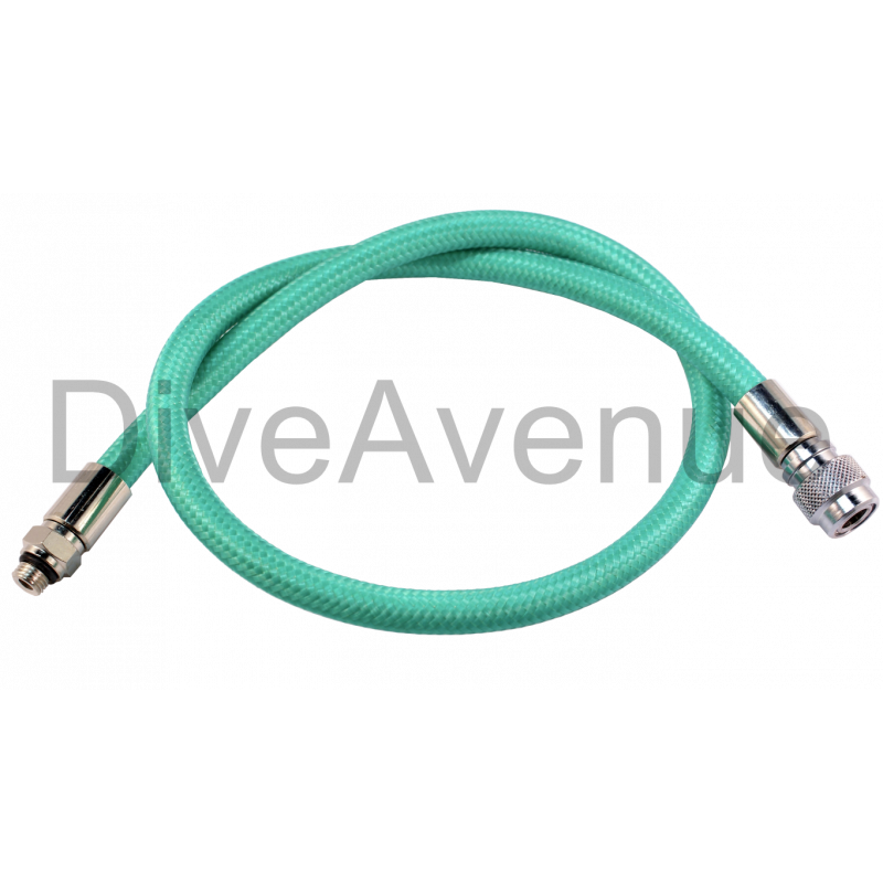 BCD hose 25cm nylon mesh black color choice