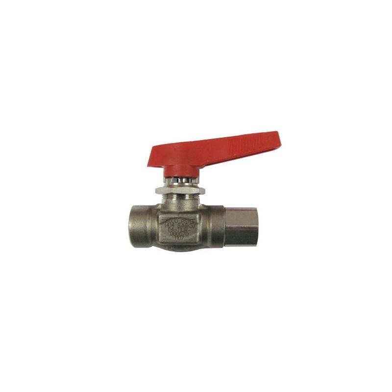 HP stainless steel ball valve 1/4 turn 2 way