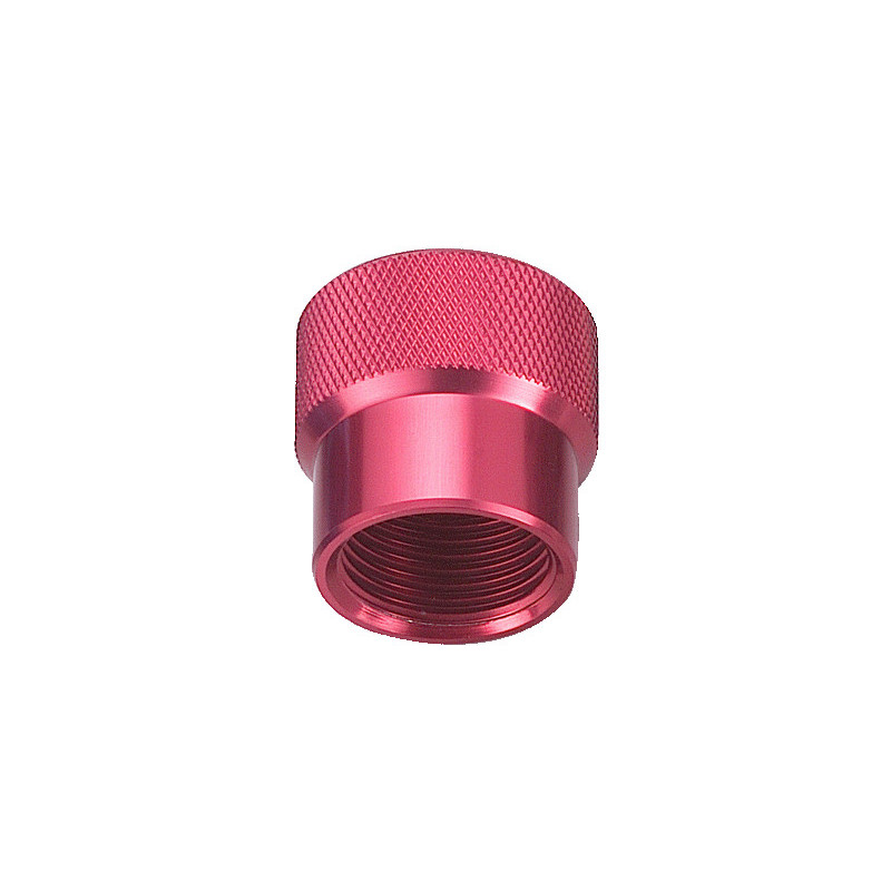 DIN female dust cap RED