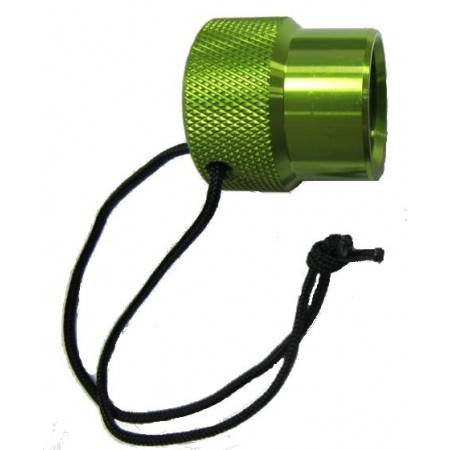 DIN female dust cap GREEN