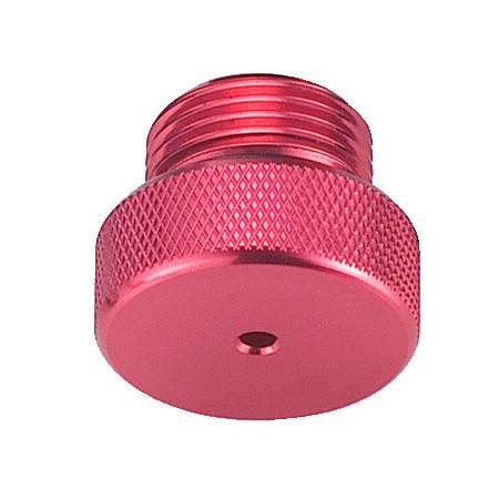 DIN male dust cap RED