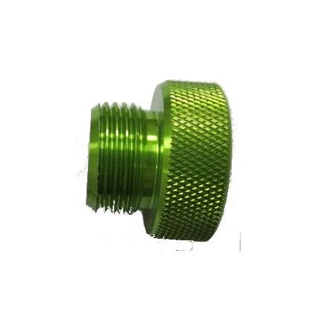 DIN male dust cap GREEN