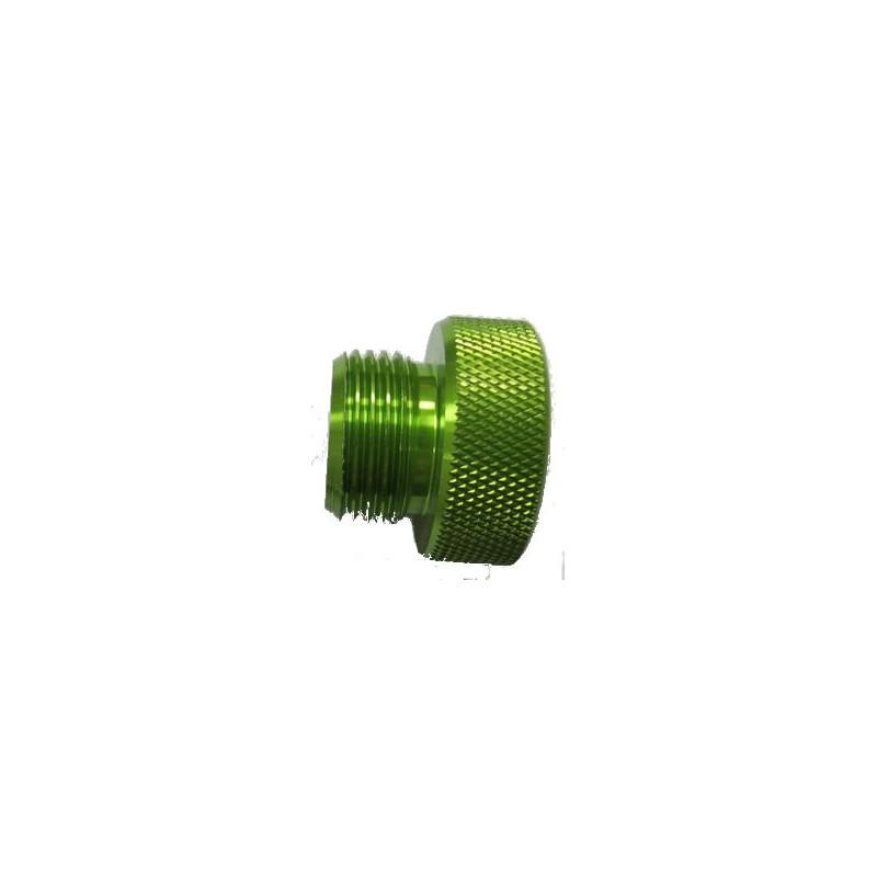 Bouchon M26 mâle vert