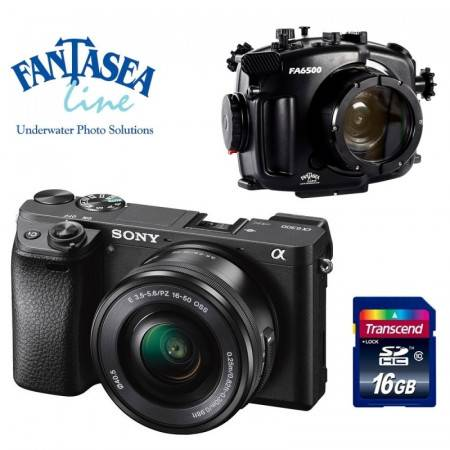 Pack Fantasea + Sony A6300...