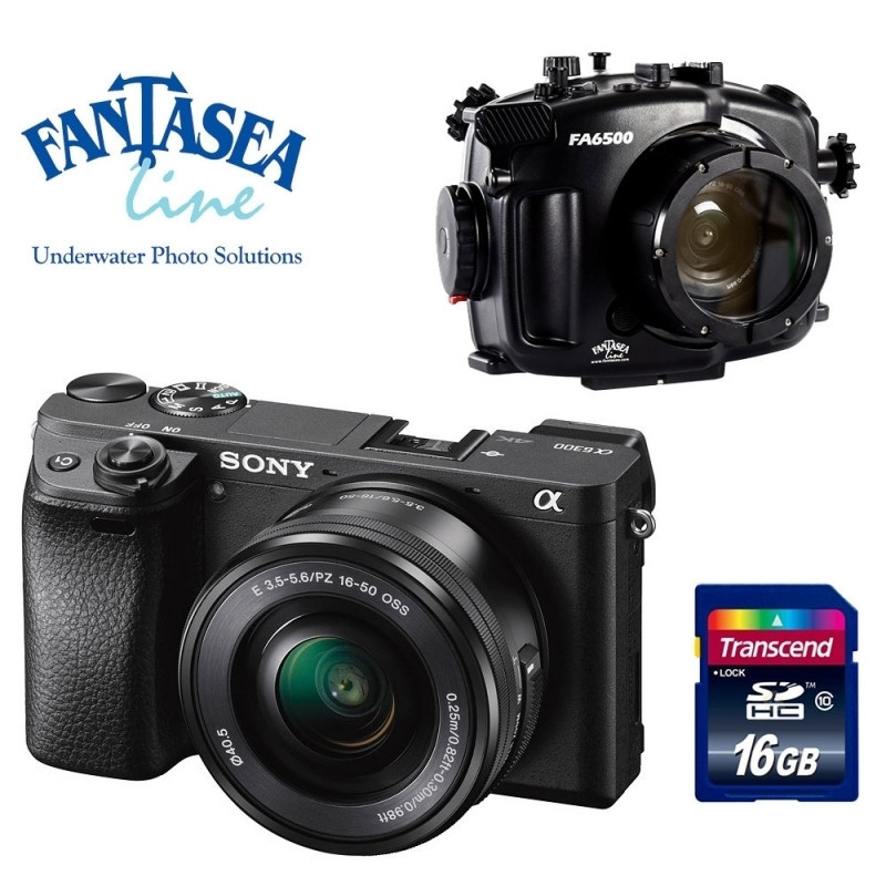 Pack Fantasea + Sony A6300 +16-50mm