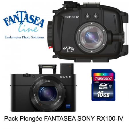 Pack caisson Fantasea + Sony RX100 IV