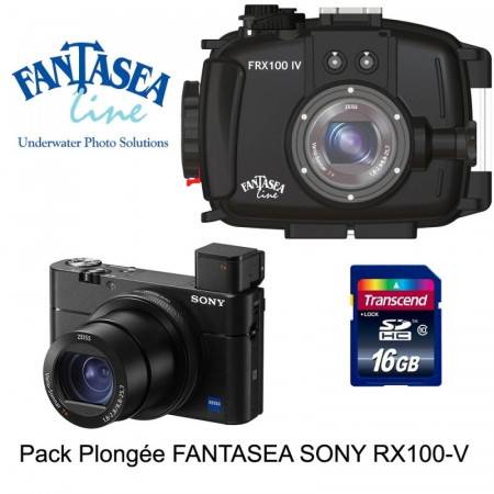 Pack caisson Fantasea + Sony RX100 V