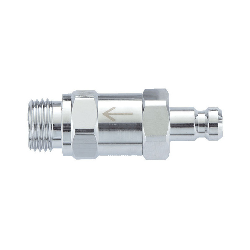 "One-Way Inline Check Valve - 9/16"" to QD"