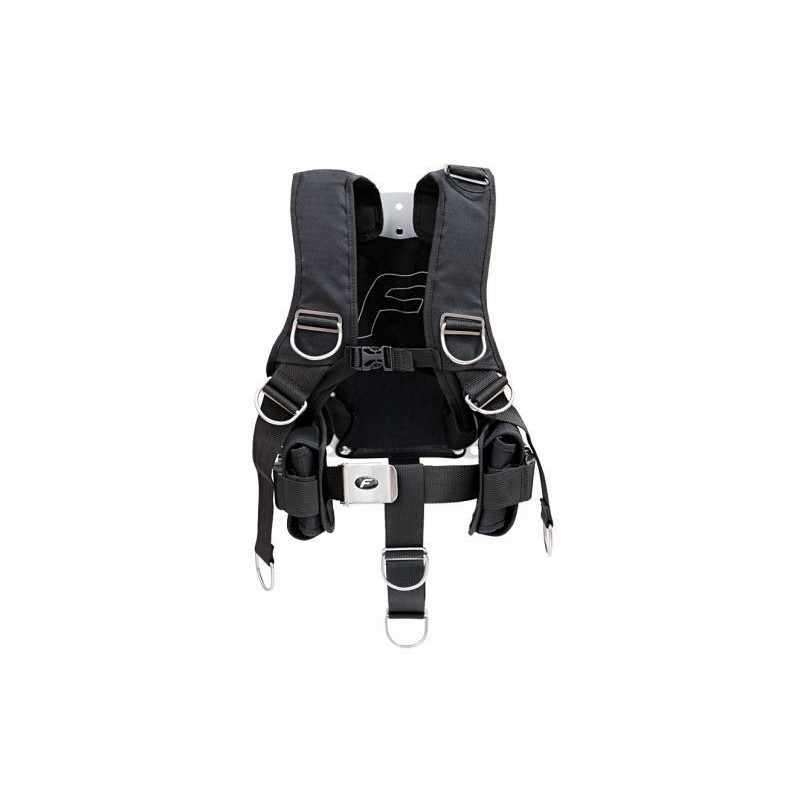 Finnsub FLY COMFORT Harness alu/SS backplate