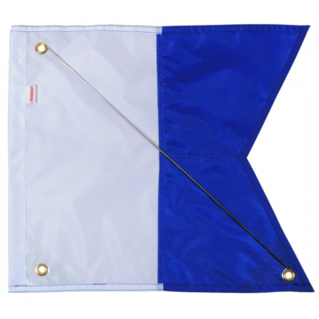 Alpha diving flag 40x35cm...