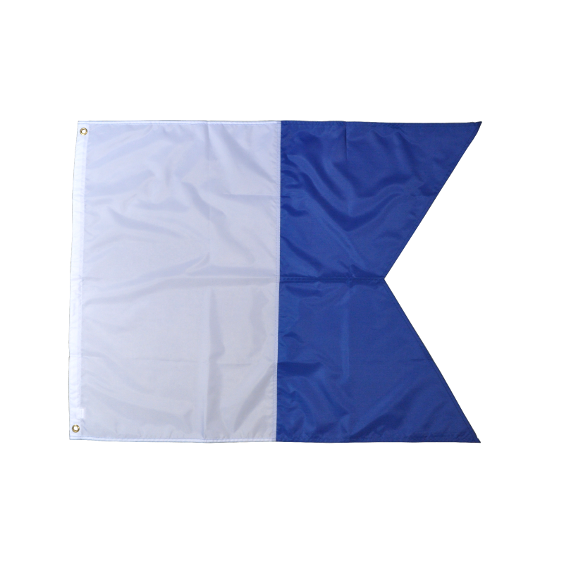 Alpha nylon diving flag nylon