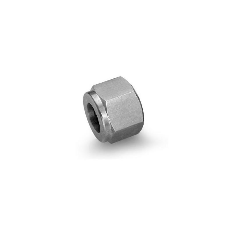 Ecrou de raccord en inox série 761L - Dia 6 mm