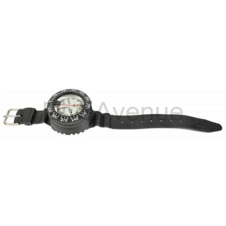Boussole compas sous-marin avec bracelet élastomère