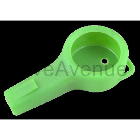 Protection plastique verte...