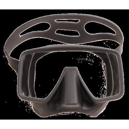 Scuba Mask ORANA black silicon