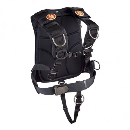 OMS IQ Lite Traveler Quilted Harness