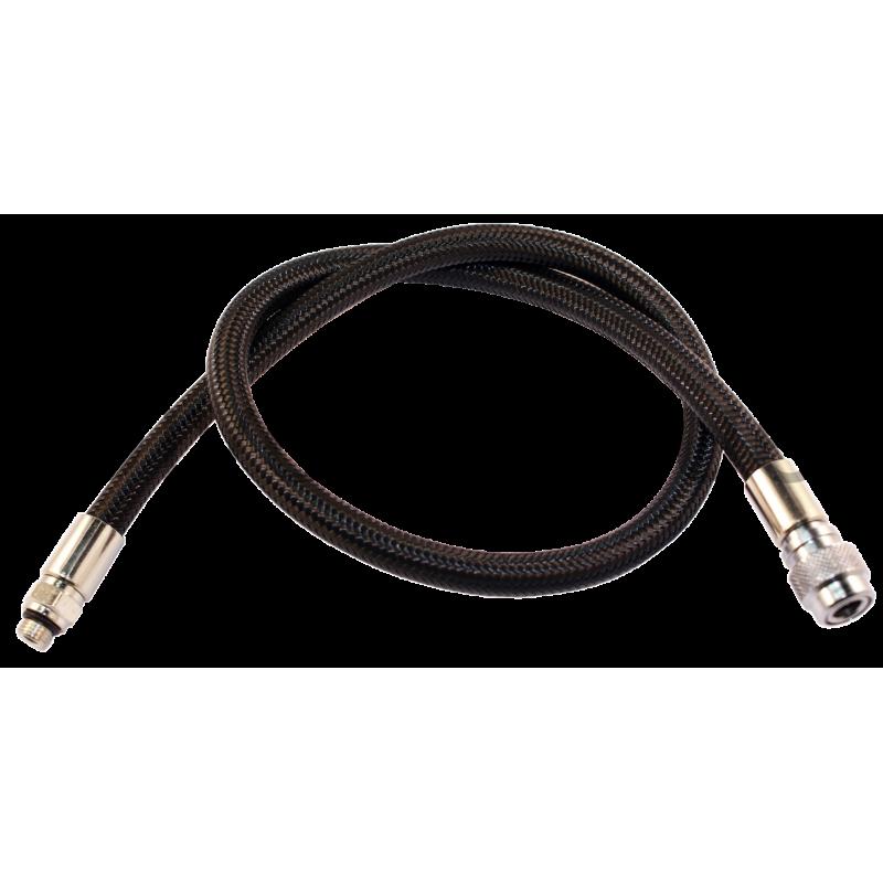 BCD hose 75cm nylon mesh black color choice