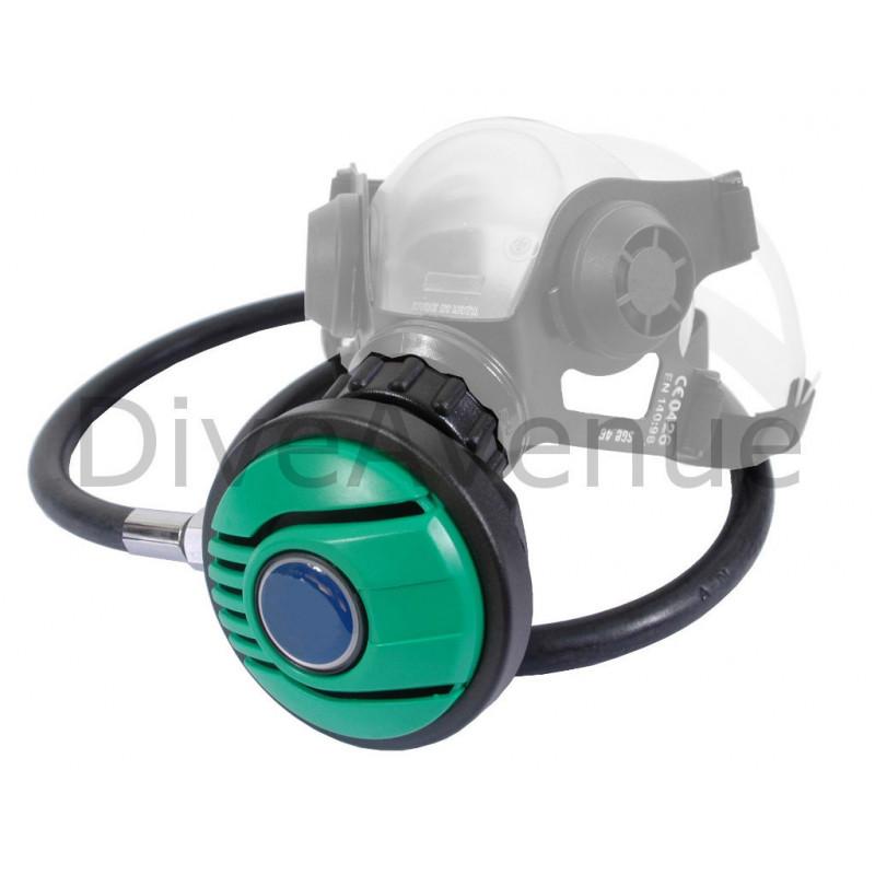 On-demand oxygen regulator with hose