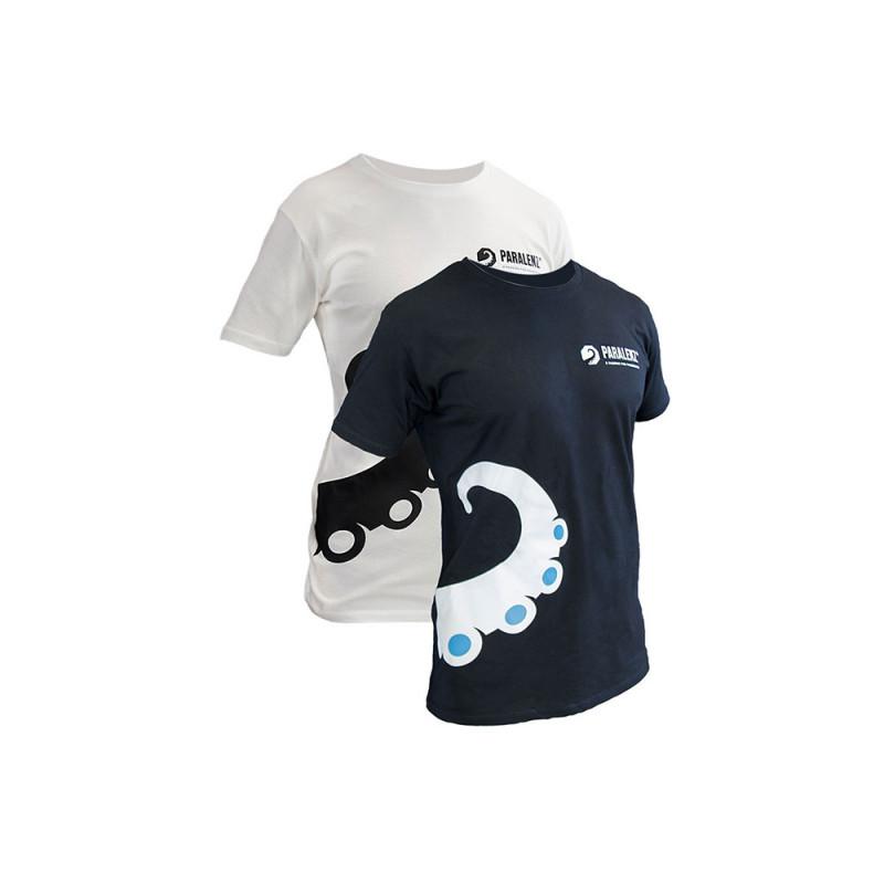 T-Shirt PARALENZ noir ou blanc, taille S à XXL