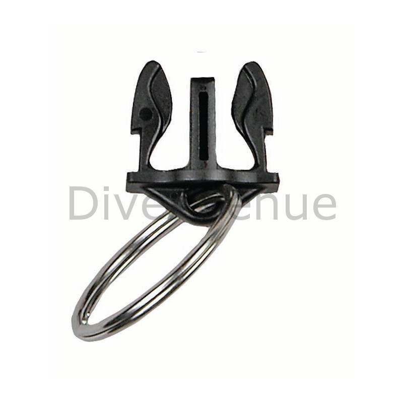 Split SS ring male extension QR for Gear Keeper