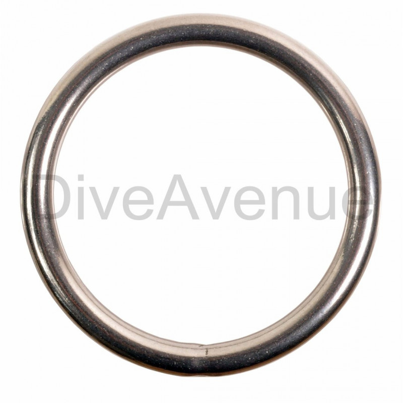 Stainless steel ring 6cm diameter for scuba