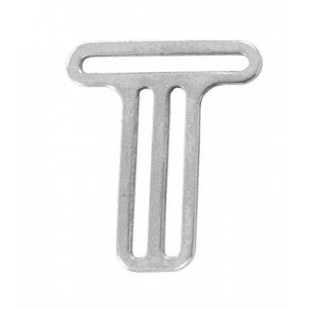 Stainless steel buckle for dive harnesses with 1 slot