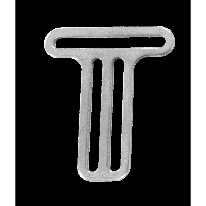 Boucle inox pour baudrier ou harnais plongée 1x passant