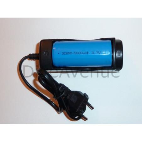 Chargeur de batterie Bigblue pour accus 32650/26650