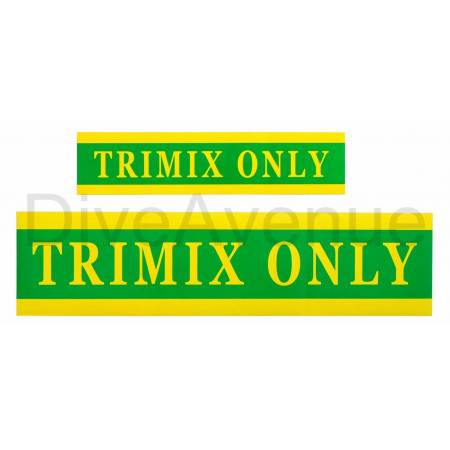 TRIMIX ONLY sticker for...