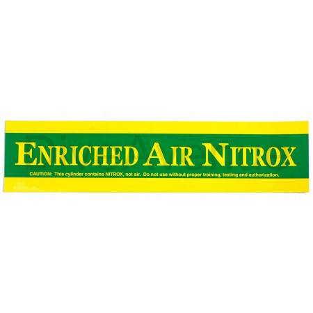 ENRICHED AIR NITROX sticker...