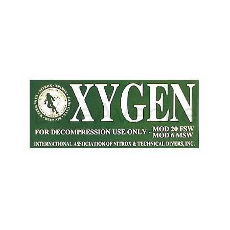 Autocollant OXYGEN pour...