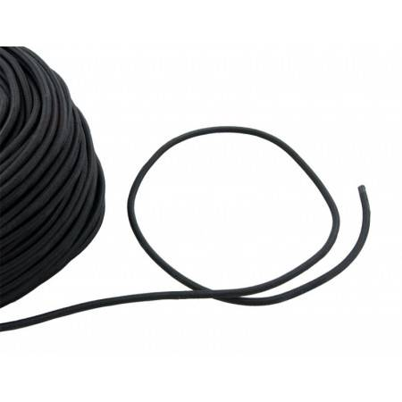 Bungee 6mm black (price per m)