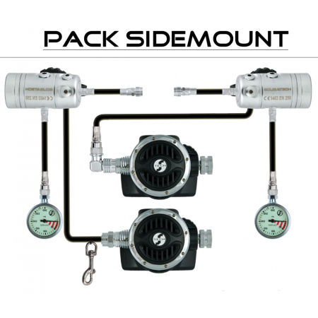 Pack détendeur « SIDEMOUNT»...