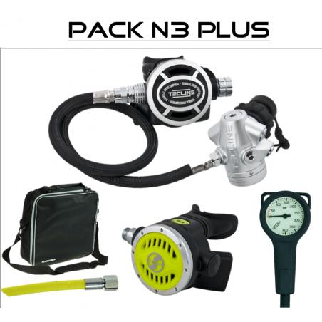 "Regulator pack ""N3 Plus"" V2 ICE diaphragm - TECLINE"