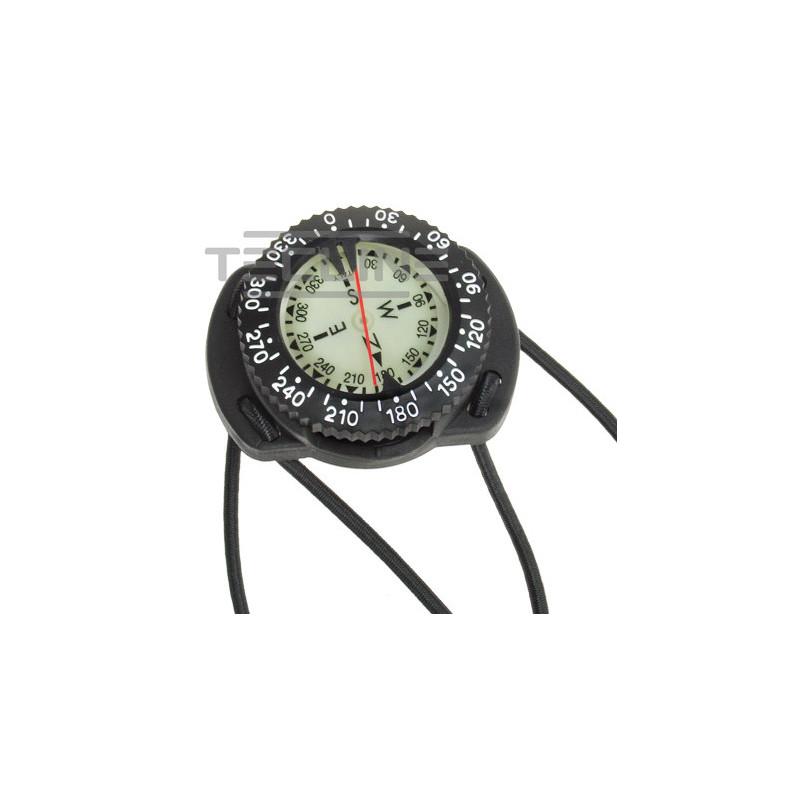 Compas boussole de plongée avec bungee TECLINE