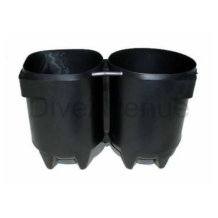 Scuba tank boot for 2x5/7...