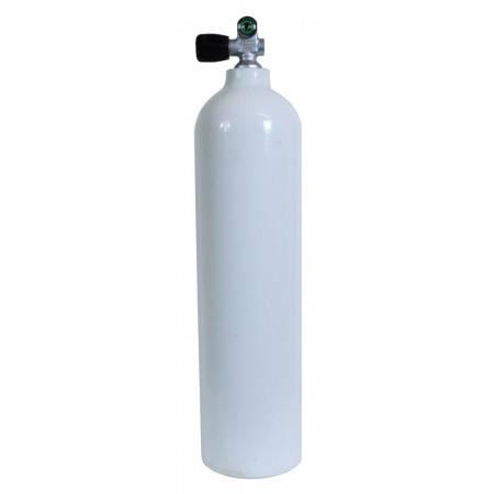 S80 (11.1 liter) aluminium tank 200bar mono valve