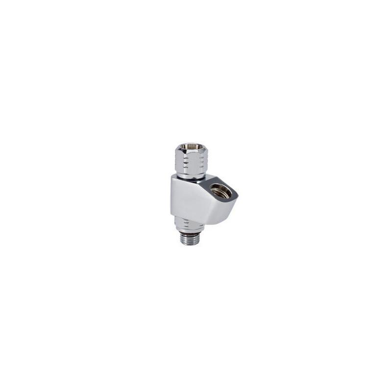 High pressure port adaptor 360° - 2 outputs