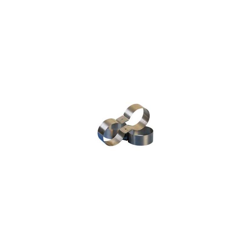 Cerclage inox pour Bi-bouteille alu S80 dia 184mm