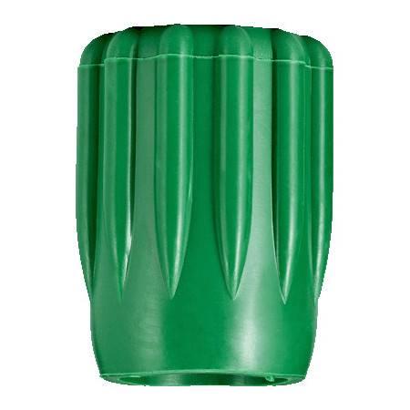 Green rubber tank valve knob