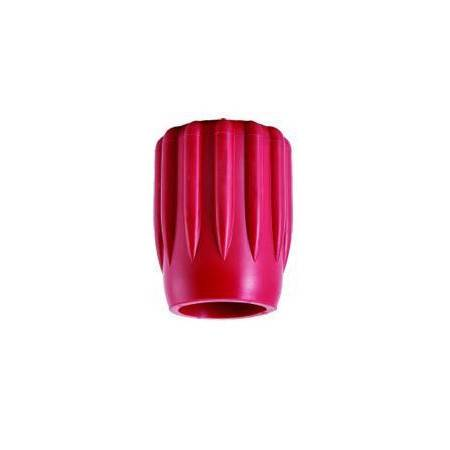 Red rubber tank valve knob